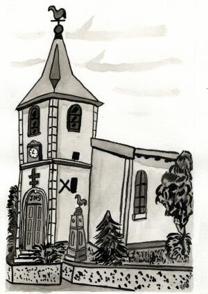 Rpartage rp eglise st karel - Eglise dessin ...